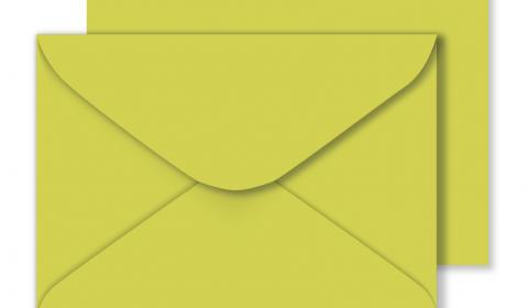 C5 Woodstock Pistacchio Envelopes 110gsm (162mm x 229mm)