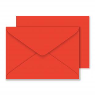 Luxury C5 Envelopes Poppy Red 100gsm