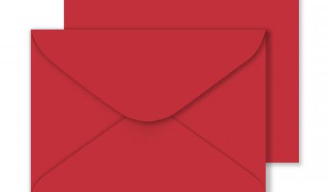 C5 Sirio Colour Lampone Envelopes 115gsm