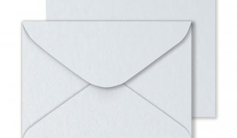 C5 Ultra White Pearlised Envelopes- 120gsm