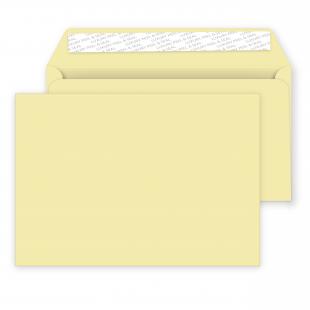 C5 Peel and Seal Envelopes - 162mm x 229mm -Vanilla Ice Cream
