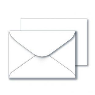 C6 Recycled Envelopes  - White
