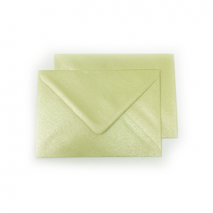 C6 Pearlised Grape Green (Amarillo) Envelopes (114mm x 162mm)