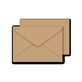 C6 Lakes Craft Biscuit Envelopes 120gsm (114mm x 162mm)
