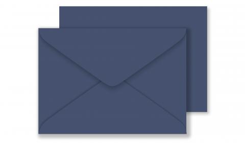C6 Sirio Colour Blu Envelopes 115gsm