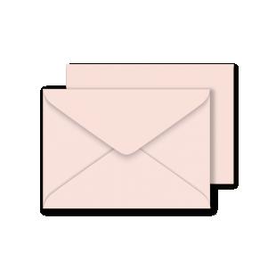 C6 Sirio Colour Nude Envelopes 115gsm