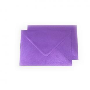 C6 Pearlised Royal Purple (Boysenberry) Envelopes (114mm x 162mm)