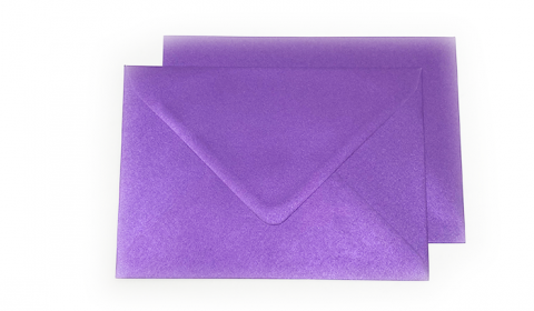 C6 Pearlised Royal Purple (Boysenberry) Envelopes (114mm x 162mm)