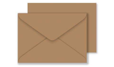 C6 Sirio Colour Bruno Envelopes 115gsm