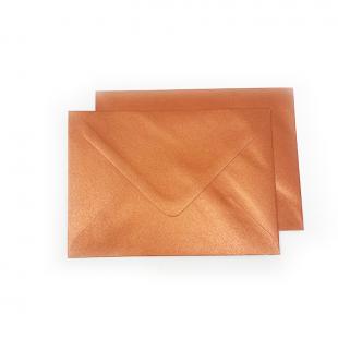 C6 Pearlised Copper Envelopes (114mm x 162mm)