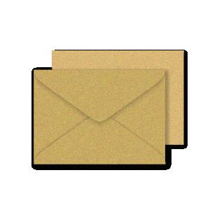 C6 Gold Sirio Pearl Envelopes 125gsm