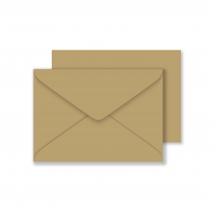 C6 Materica Kraft Envelopes 120gsm
