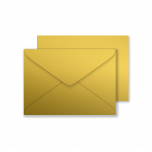 Luxury C6 Envelopes - Metallic Gold
