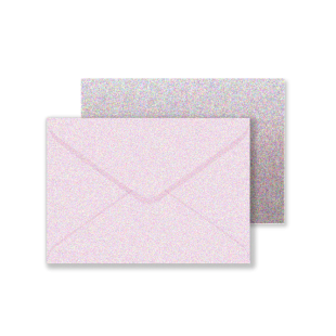 C6 Misty Rose Sirio Pearl Envelopes 125gsm