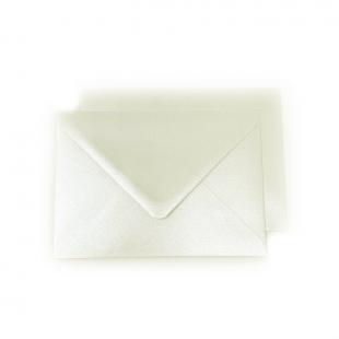 C6 Pearlised Quartz White (Orchid) Envelopes (114mm x 162mm)
