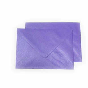 C6 Pearlised Lavender Purple (Plum) Envelopes (114mm x 162mm)