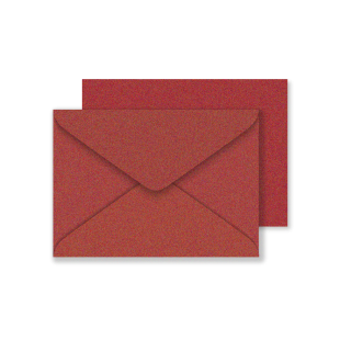 C6 Red Fever Sirio Pearl Envelopes 125gsm