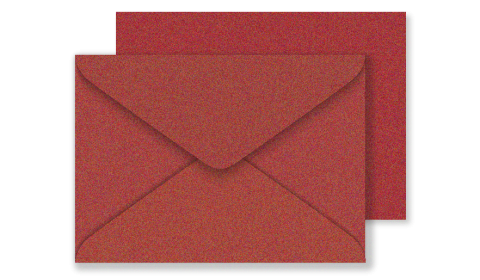 C6 Red Fever Sirio Pearl Envelopes 125gsm