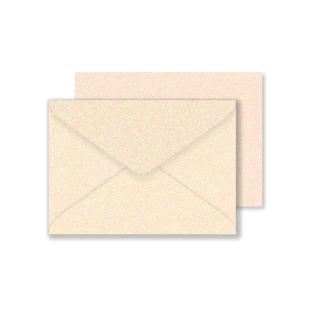 C6 Rose Gold Sirio Pearl Envelopes 125gsm