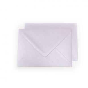 C6 Pearlised Lilac (Tea Rose) Envelopes 100gsm (162mm x 114mm)
