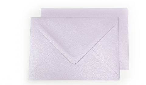 C6 Pearlised Lilac (Tea Rose) Envelopes 100gsm (162mm x 114mm)