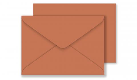C6 Materica Terra Rossa Envelopes 120gsm