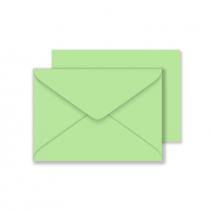 C6 Woodstock Verde Envelopes 110gsm (114mm x 162mm)