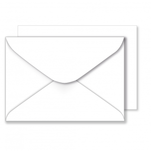 1,000 Wholesale C6 White Envelopes 100gsm (114mm x 162mm)