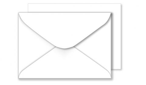 1,000 Wholesale C6 White Envelopes 100gsm (114mm x 162mm)
