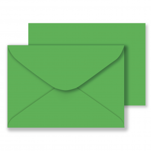 C6 Xmas Green Envelopes 100gsm (114mm x 162mm)