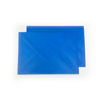 C6 Pearlised Yale Blue Envelopes (114mm x 162mm)