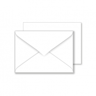 Essentials C6 White Envelopes