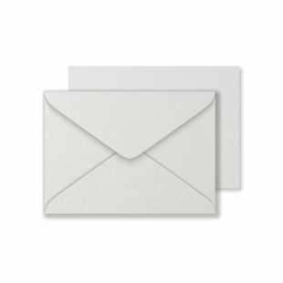 Luxury C6 Envelopes - Pearlised Natural White