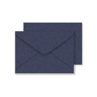 C6 Shiny Blue Sirio Pearl Envelopes 125gsm