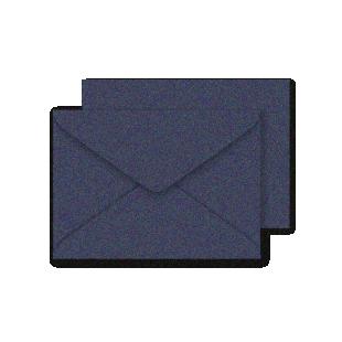 C6 Shiny Blue Sirio Pearl Envelopes 125gsm