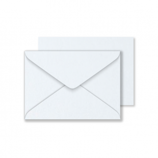 Luxury C6 Envelopes - Pearlised Ultra White