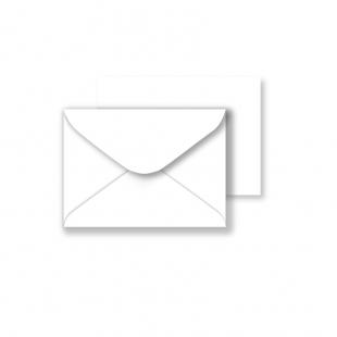 C7 White Envelopes 130gsm (82mm x 113mm)