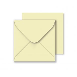Square Envelopes - Cream (130mm x 130mm)