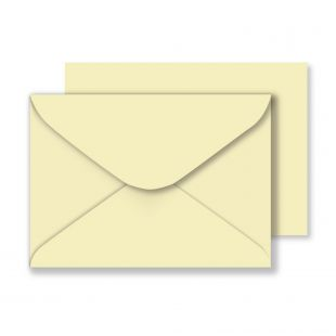 B6 Cream Envelopes (125mm x 175mm)