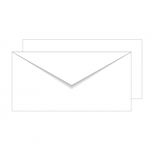 Essentials White DL Envelopes