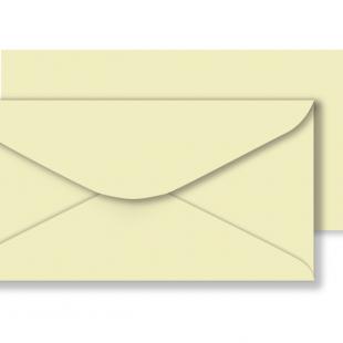 1,000 Wholesale DL Cream Envelopes 100gsm (110mm x 220mm)