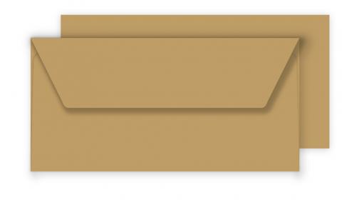 Essentials DL Fleck Kraft Envelopes 100% Recycled