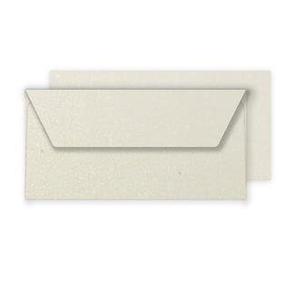 Luxury DL Envelopes - Pearlised Ivory