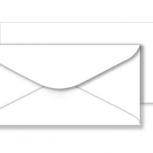 1,000 Wholesale DL White Envelopes 130gsm (110mm x 220mm)