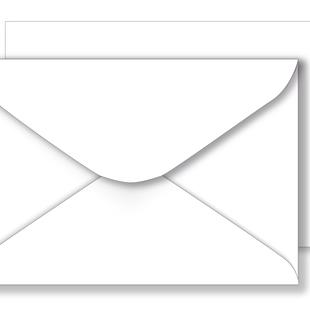 Essentials White Envelopes - 133mm x 197mm