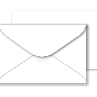 Essentials White Envelopes - 127mm x 190mm