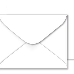 Essentials White Envelopes - 184mm x 235mm