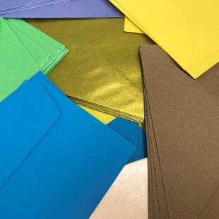 Box of Assorted Envelopes