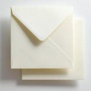 Luxury Square Envelopes - Essentials Ivory