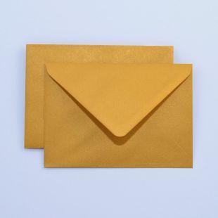 Lustre Print Royal C6 Envelopes - Pearlised Tenne